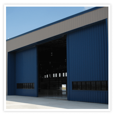 Aviation hanger, Steel building, prefabricated steel