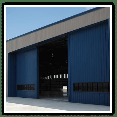 Aviation hanger, Steel building, prefabricated steel